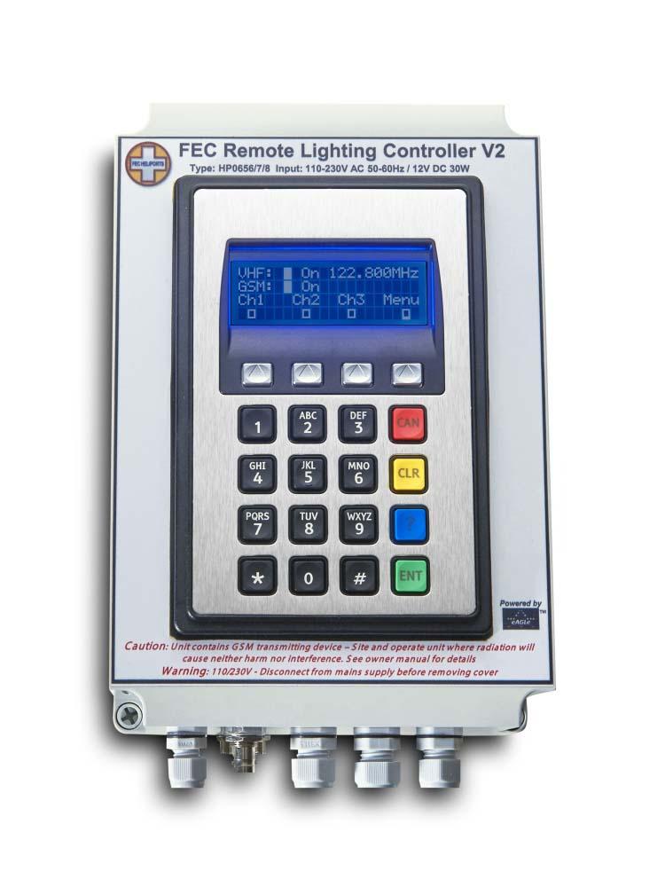 FEC Remote Lighting Controller VHF/GSM