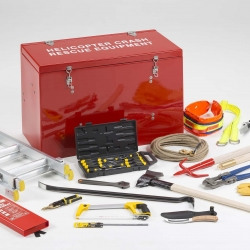 Helicopter Crash Rescue Locker H3 Package