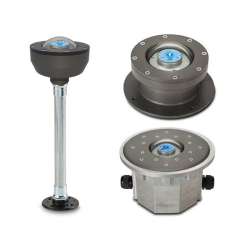 FEC LED Blue Ground Mounted Taxiway Light