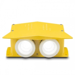 FEC LED Hooded Flood Light