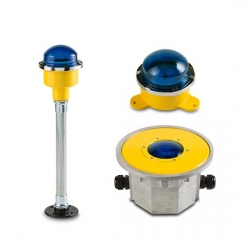 FEC LED Blue Ground Mounted Taxi Way Light