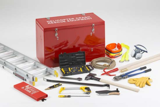 Helicopter Crash Rescue Locker  H1/H2 Package