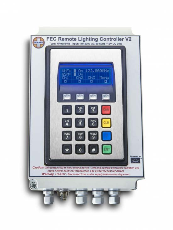 FEC Remote Lighting Controller VHF/GSM