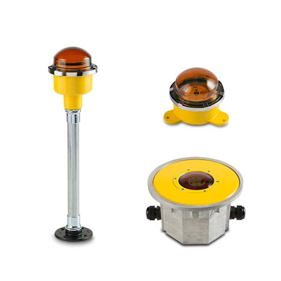 FEC LED Yellow Perimeter Lights