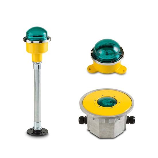 FEC LED Green Perimeter Lights