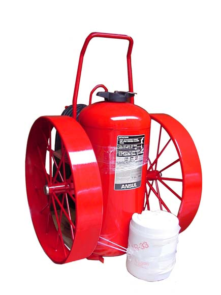 Big Wheel Fire Extinguisher