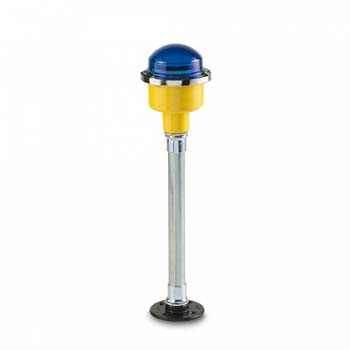 FEC LED Blue Pole Mounted Taxi Way Light