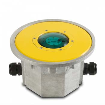 FEC LED Green Flush Mounted Perimeter Light