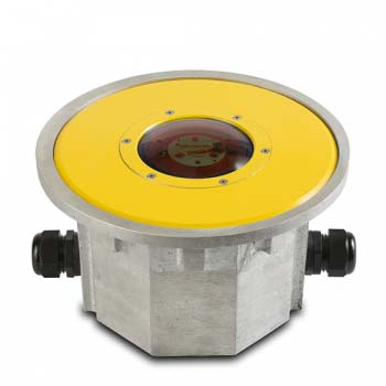 FEC LED Yellow Flush Mounted Perimeter Light