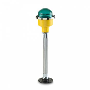FEC LED Green Pole Mounted Perimeter Light